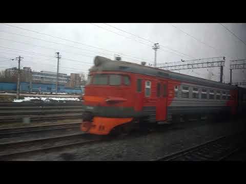. Бессоновка-Пенза 4-Пенза 1. Поездка на поезде со стороны Мордовии