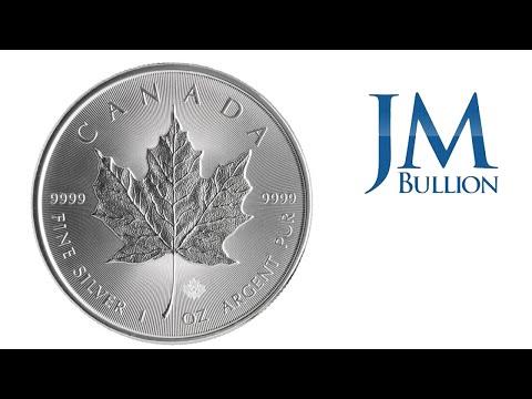 1 Oz Canadian Maple Leaf Silver Coin ➜ JMBullion Com