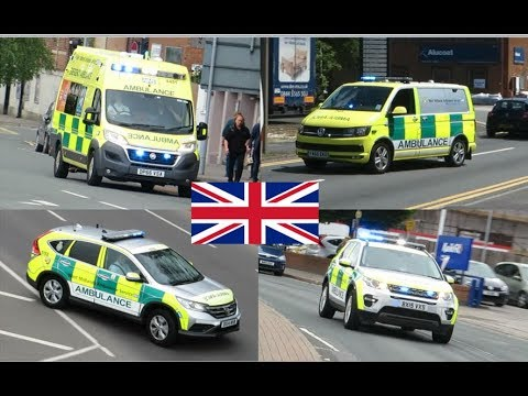 West Midlands Ambulance Responding Compilation - NEW HART Lights and Sirens