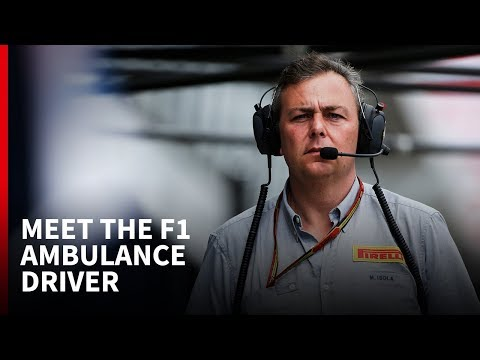 Meet the ambulance driver who works in F1