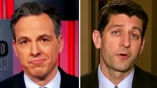 Jake Tapper Humiliates Paul Ryan: Trump