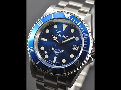 squale 1545 20 atmos first look and impression youtube