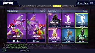 Playing Fortnite 170+ New skin