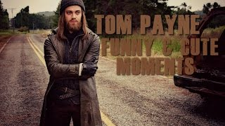 Tom Payne from The Walking Dead funny & cute moments