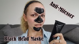 Black Head Maske / Anti- Mitesser / Test & Review / Schwarze Maske