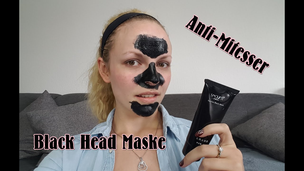 black head maske anti mitesser test review schwarze maske youtube. Black Bedroom Furniture Sets. Home Design Ideas