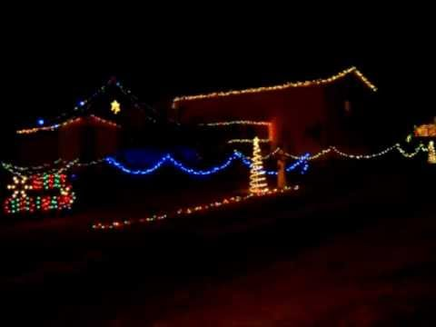 Barnett Christmas Light Show Jingle Bell Rock - Rascal Flatts