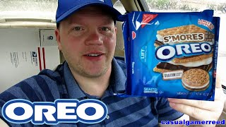 Reed Reviews Oreo S'mores