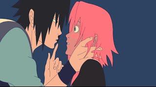 �������� ���� Sakura & Sasuke || Full Kiss Scene ❤ ������