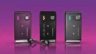 SONY ERICSSON W380i GSM CELL PHONE WALKMAN PROMO DEMO ADVERTISEMENT COMMERCIAL