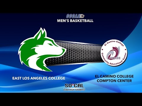Mens Basketball: East Los Angeles College vs El Camino College, 3/4/17 @ 7:00 PM