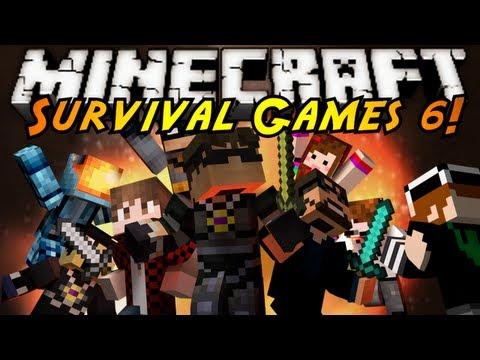 Minecraft: SURVIVAL GAMES 6!
