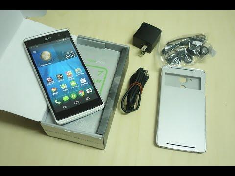 พรีวิวแกะกล่อง Acer Liquid Z500 คู่แข่งที่น่ากลัวของ Zenfone 5