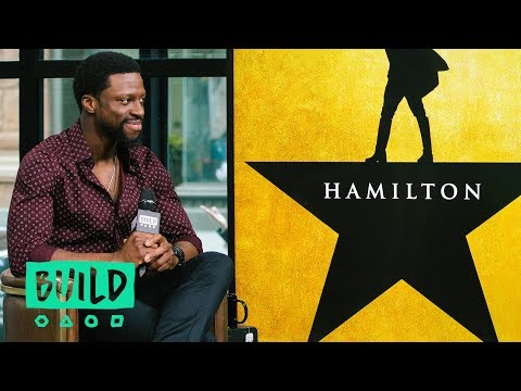 "Michael Luwoye Chats About Starring In ""Hamilton"""