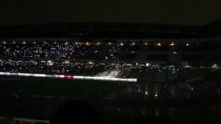日産スタジアム 横浜FM×鹿島アントラーズ アウェイ側 試合前
