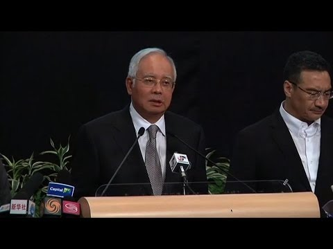 Malaysian PM: Plane Ended Up In Southern Indian Ocean