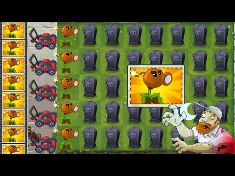 pinata-party-4/7/2019-(july-4th)---team-plants-power-up!-in-plants-vs-zombies-2-gameplay