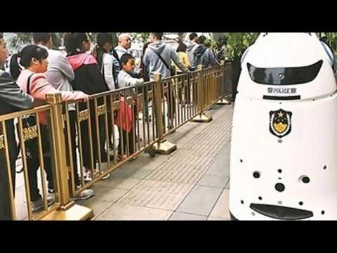 Robocops That Look Like Vaccum Cleaners Deployed in Chinese City
