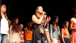 Eastside High School Chorus singing Seasons of Love (525600 minutes) from the musical Rent