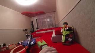 NERF WAR(ВОЙНА НЁРФ)Битва с террористом 17 серия