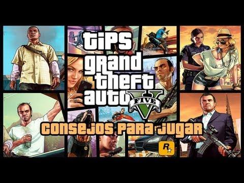 Tips para empezar a jugar a GTA V por primera vez