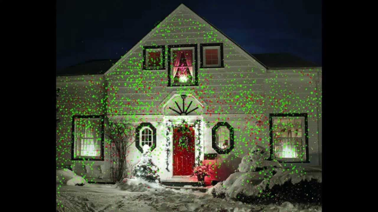 Reviews Star Shower Outdoor Laser Christmas Lights, Star Projector ...