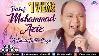 Gambar cover A Tribute To The Singer Mohammed Aziz | Bollywood Superhit Songs | Jukebox | 90's Evergreen Songs