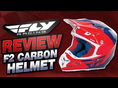 Fly Racing F2 Carbon Helmet Review from Sportbiketrackgear.com