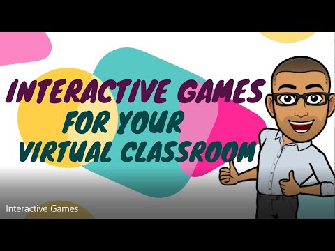 Interactive Games Using Google Slides for Your Bitmoji Virtual Classroom