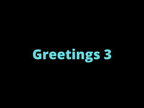 (6) Greetings 3 | Samoan