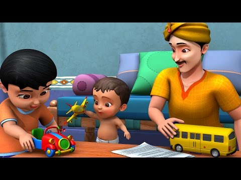 Thumbnail: Chinni Uncle Gifts | Telugu Rhymes for Children | Infobells
