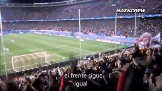 Frente Atlético , nueva canción , contigo hasta el final con letra