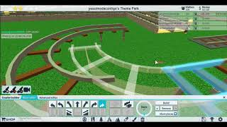 playing roblox second sees. arming my amusement park