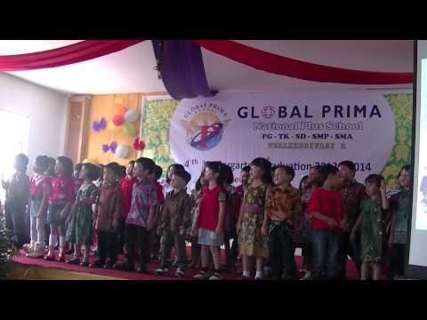satu satu versi mandarin by kindergarten stundets of global prima school