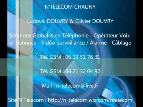 N'TELECOM CHAUNY SOLUTIONS GLOBALES EN TELEPHONIE D'ENTREPRISE
