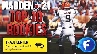 TOP 10 Rookies To Trade For In Madden 21 || Madden 21 Franchise Mode