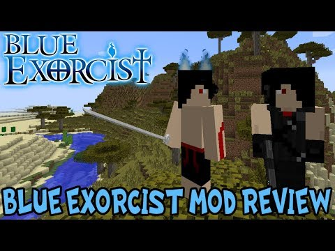 OBTAIN THE FLAMES OF SATAN! || Minecraft Blue Exorcist Mod Review