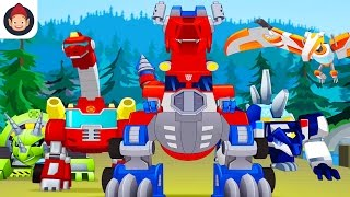 Transformers Rescue Bots Dino Island iOS/Android Storybook Game App With Optimus Prime & Dinobots
