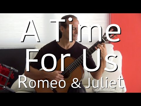 A Time For Us Romeo and Juliet Michael Marc  Acoustic Guitar