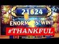 HAPPY THANKSGIVING!!! BONUS CRAZY WINS @ Graton Casino | NorCal Slot Guy