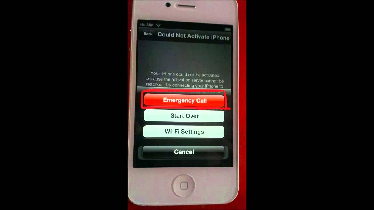how to activate iphone without sim activate iphone 4s without sim card 2937