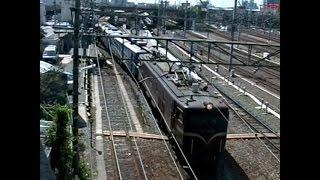1995年豊橋駅EF58ファミリートロッコなど 想い出の鉄道シーン361