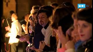 Folla per l'attore Rupert Everett al Lucca Film Festival