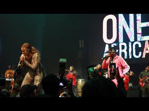 Tiwa Savage  X One Africa Music Fest Dubai