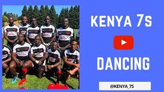 KENYA RUGBY 7S ★ DANCING TO AMBA KHU YESU ★ 2018