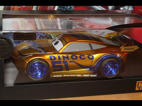 Jada Disney Cars 3 Metallic Gold Dinoco Cruz Ramirez D23 Exclusive 2017