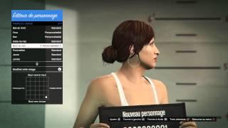GTA 5 -Création de mon personnage thumbnail