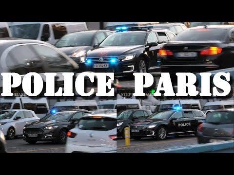 Voitures Banalisées Police Nationale Paris