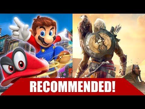 10 BEST GAME RELEASES OCTOBER 2017