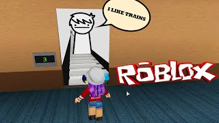ROBLOX LET'S PLAY THE NORMAL ELEVATOR | I LIKE TRAINS | RADIOJH GAMES